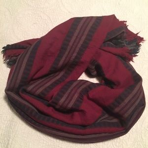 Wilfred Striped Blanket scarf